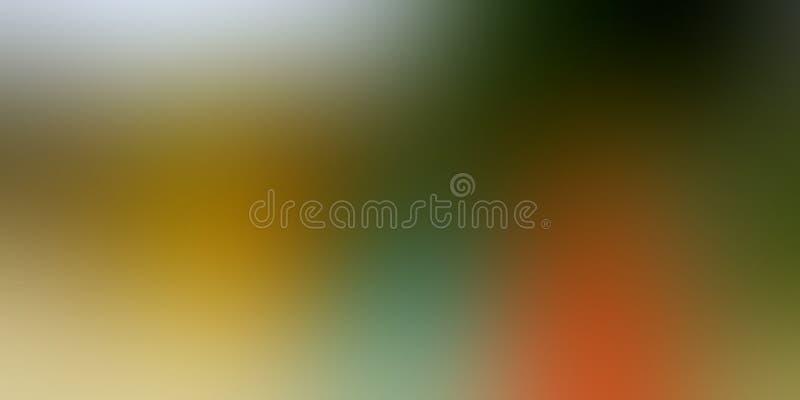 Diseño colorido del vector del fondo del extracto de la falta de definición, fondo sombreado borroso colorido, ejemplo vivo del v fotos de archivo