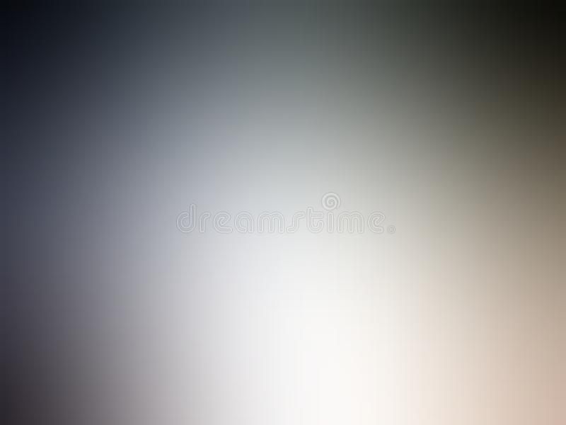 Diseño colorido del vector del fondo del extracto de la falta de definición, fondo sombreado borroso colorido, ejemplo vivo del v foto de archivo libre de regalías