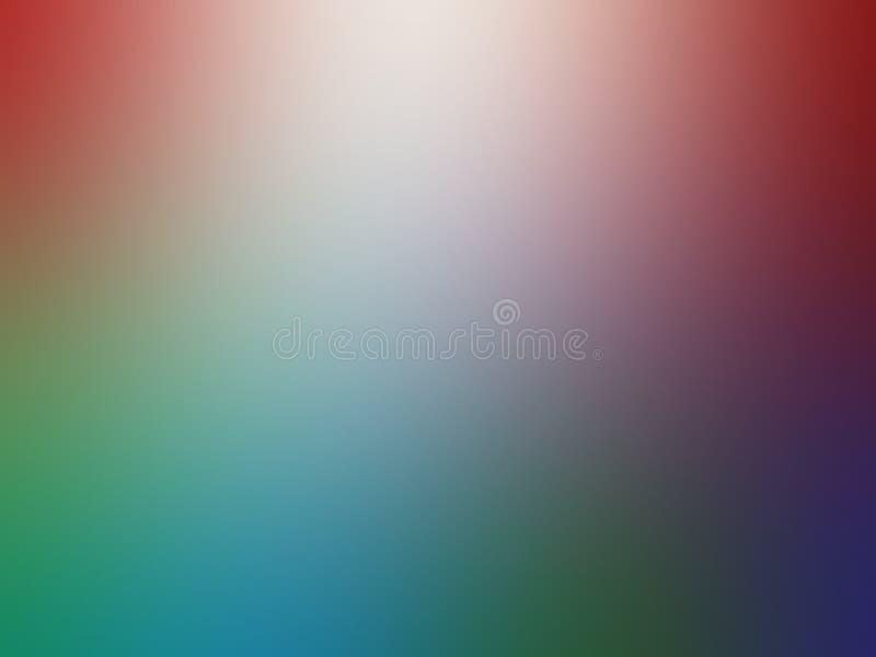 Diseño colorido del vector del fondo del extracto de la falta de definición, fondo sombreado borroso colorido, ejemplo vivo del v stock de ilustración