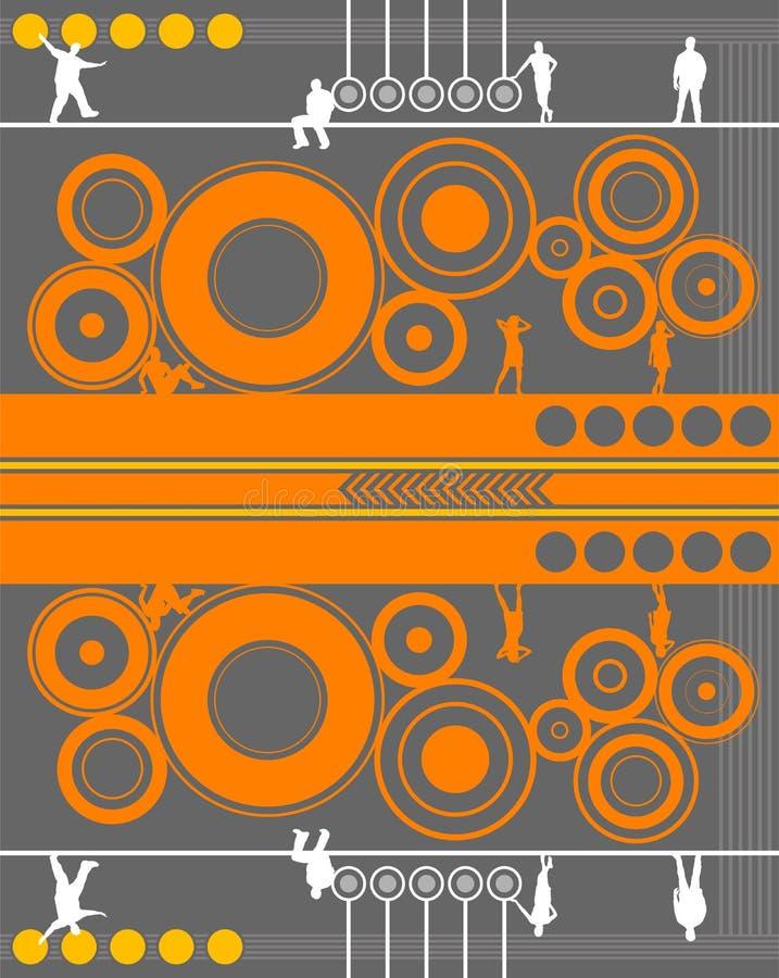 Diseño contemporáneo libre illustration