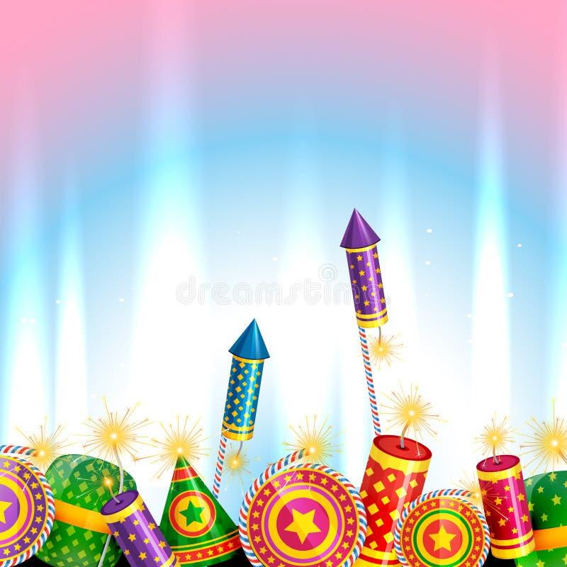 Diseño creativo de diwali stock de ilustración
