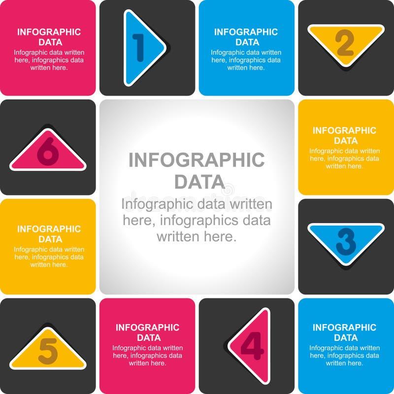 Diseño creativo de los información-gráficos del negocio libre illustration