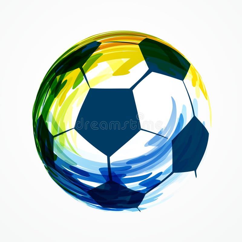 Download Diseño creativo del fútbol ilustración del vector. Ilustración de campeonato - 41919983