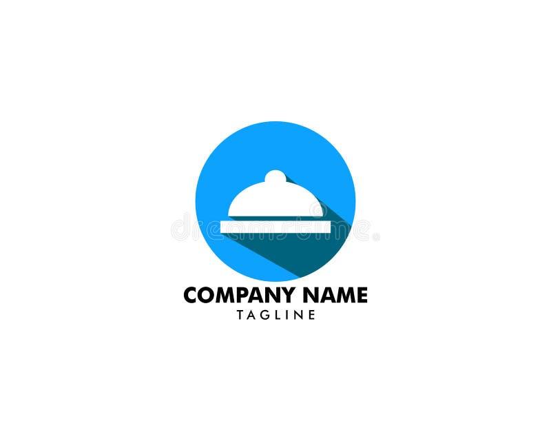 Diseño de abastecimiento de la plantilla del logotipo de la compañía stock de ilustración