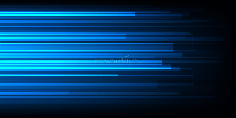Diseño de alta velocidad del movimiento De alta tecnología Fondo abstracto de la tecnología Ilustración del vector libre illustration