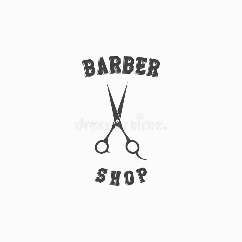 Diseño de Barber Shop Logo Vector Template libre illustration