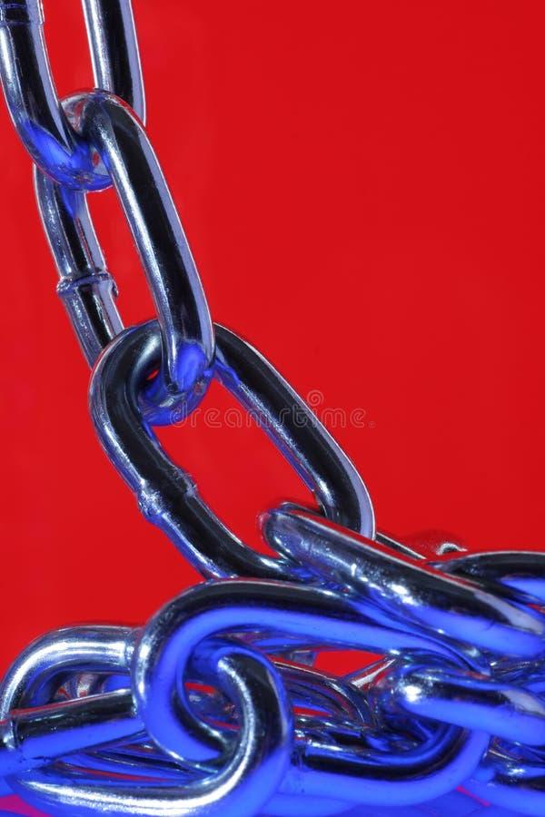 Diseño de cadena abstracto. imágenes de archivo libres de regalías