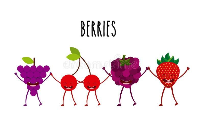 Diseño de carácter de la comida libre illustration