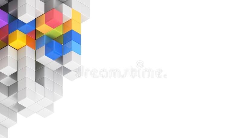 Diseño de concepto de la tarjeta de visita libre illustration