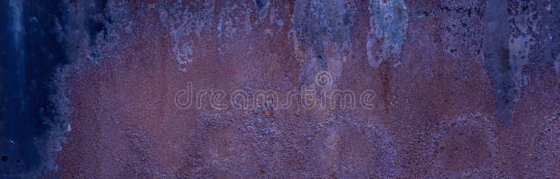 Diseño de concepto de la construcción de Rusty Metal Texture Background Industrial de largo fotos de archivo