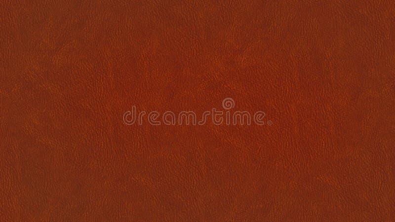 Diseño de cuero rojo marrón de la textura libre illustration