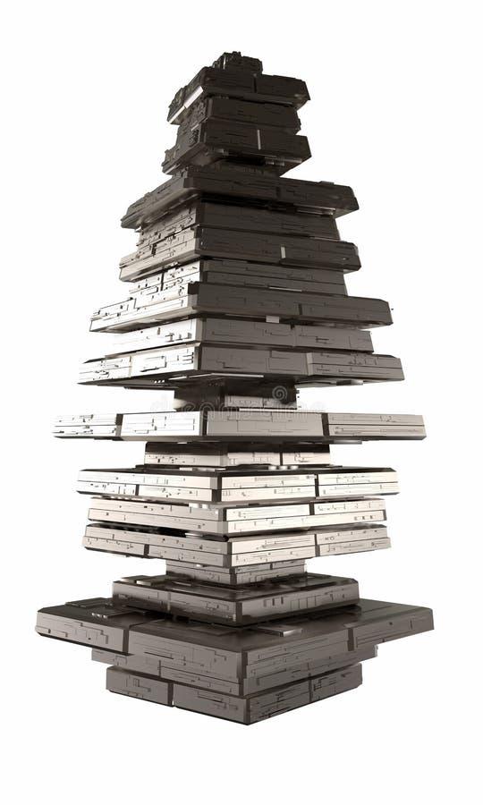 Estructura Piramidal Stock De Ilustración Ilustración De