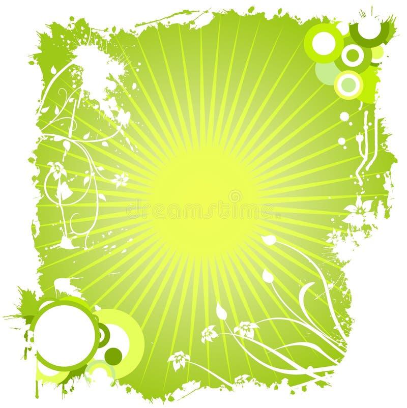 Diseño de Grunge ilustración del vector