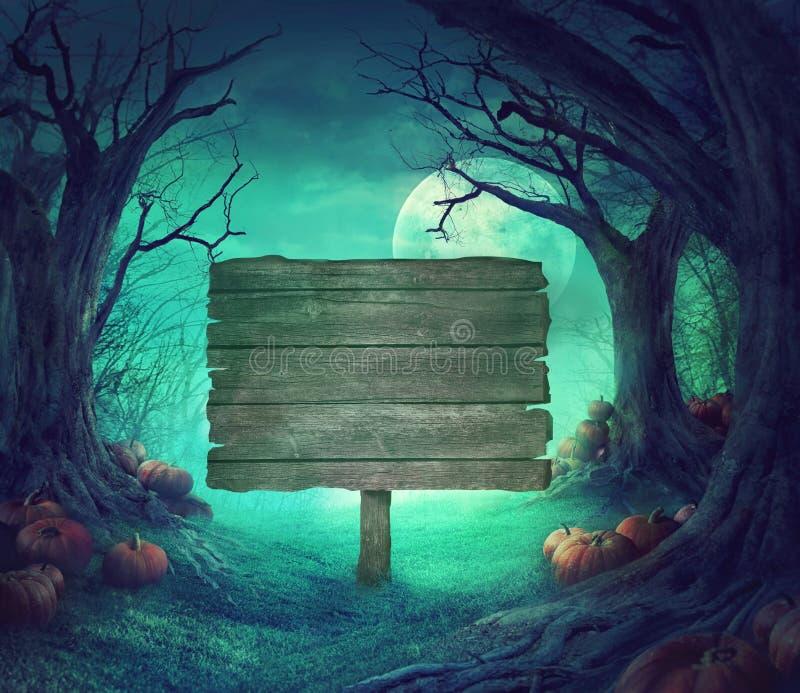 Diseño de Halloween imagen de archivo