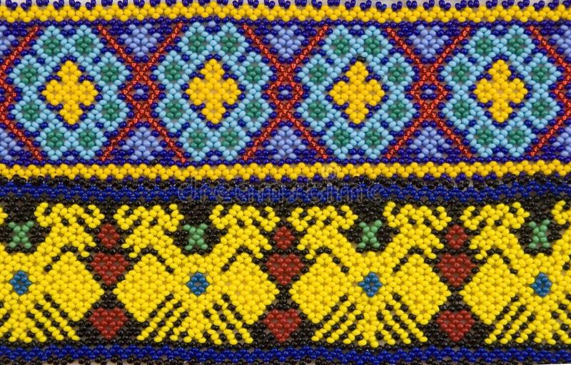 Diseño de Huichol fotografía de archivo