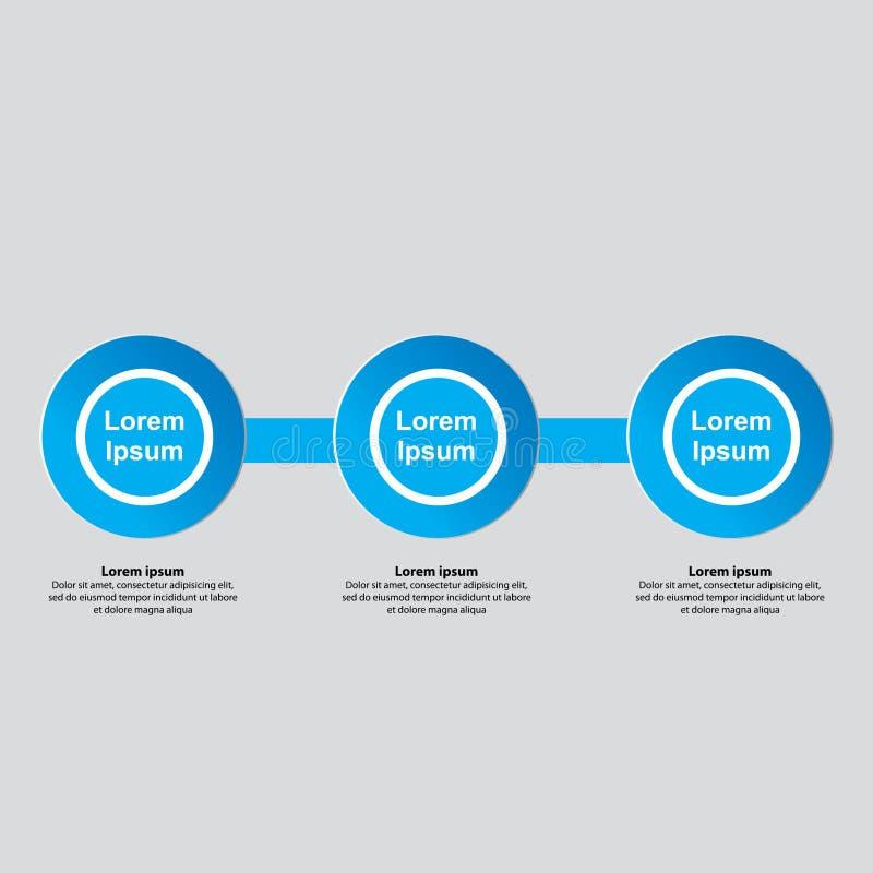 Diseño de Infographics del negocio Plantilla infographic del negocio de la presentación libre illustration