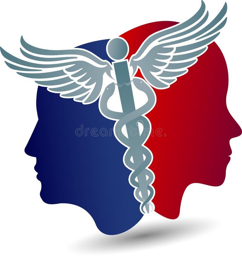 Diseño de la atención sanitaria ilustración del vector
