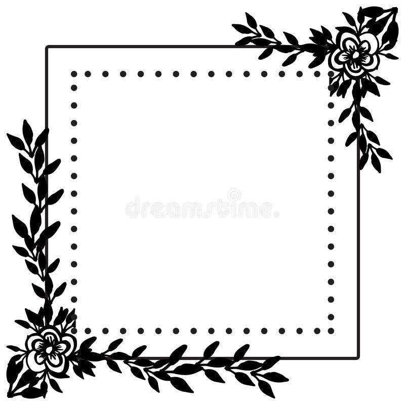 Diseño de la boda del vintage, con el papel pintado del estampado de flores Vector libre illustration