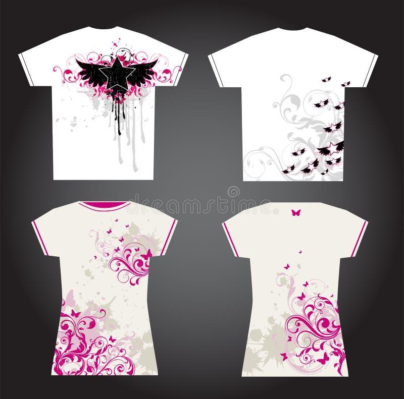 Diseño De La Camiseta Imagen de archivo