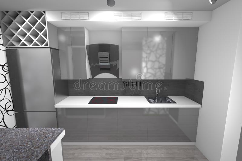 Diseo Cocinas 3d. Excellent Diseo Cocina D With Diseo ...