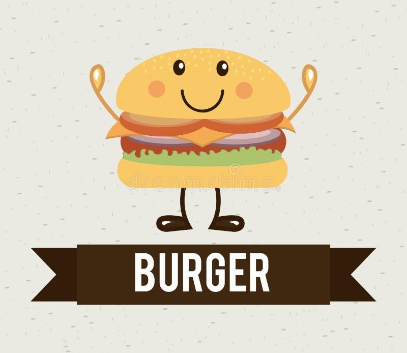 Diseño de la comida stock de ilustración