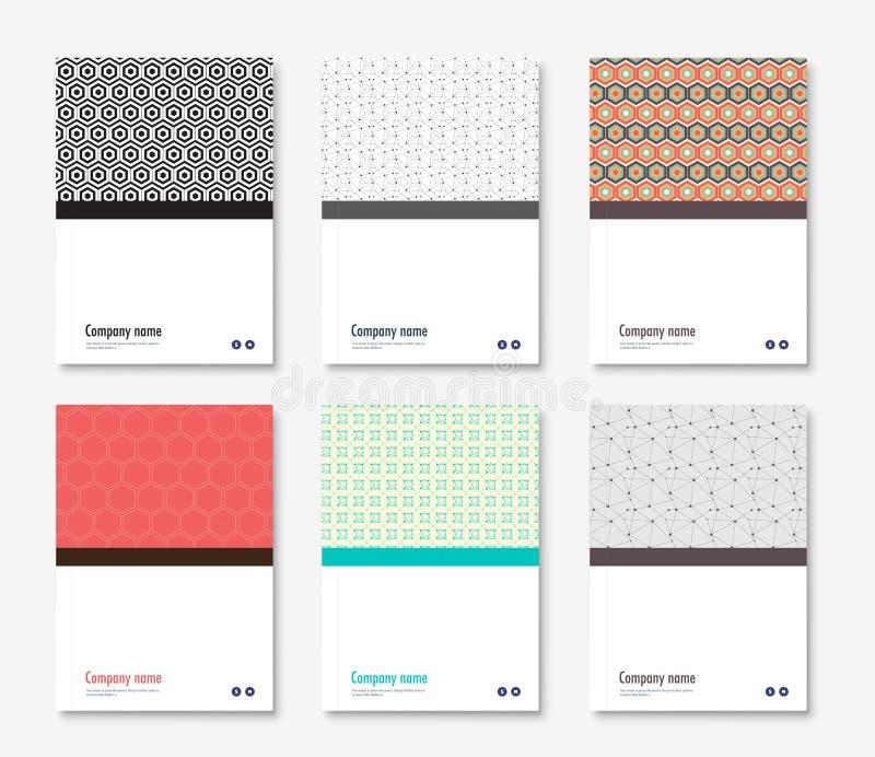 Diseño De La Cubierta Del Informe Anual Libro, Plantilla Del ...