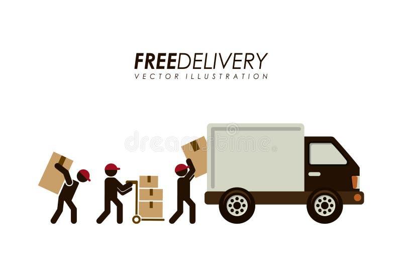 Download Diseño de la entrega ilustración del vector. Ilustración de concepto - 41912209