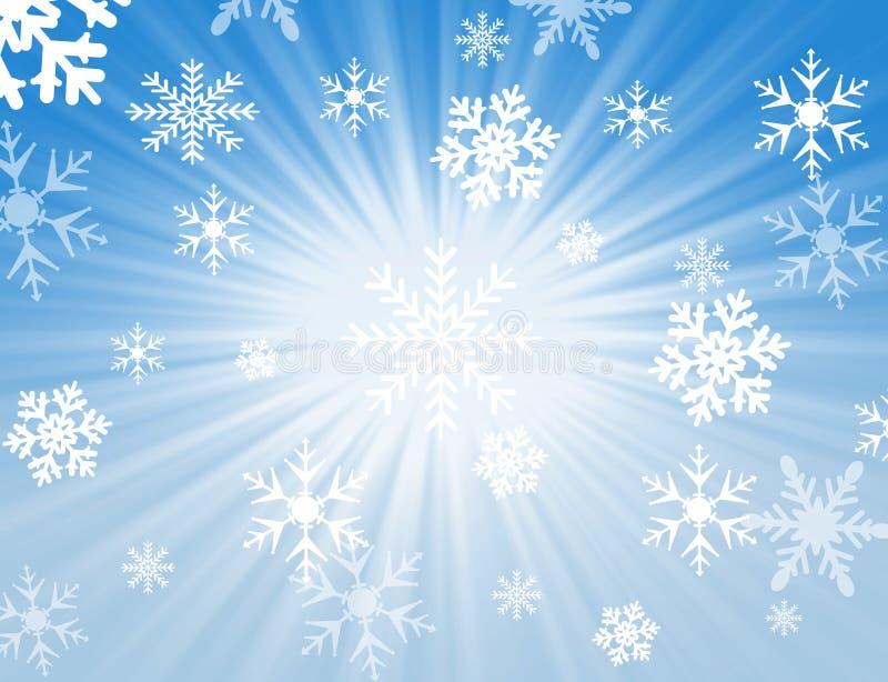 Diseño De La Escama De La Nieve Imagen de archivo