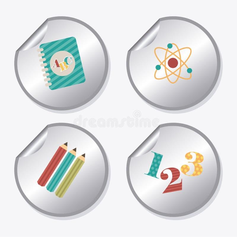 Download Diseño de la escuela ilustración del vector. Ilustración de objeto - 42427000