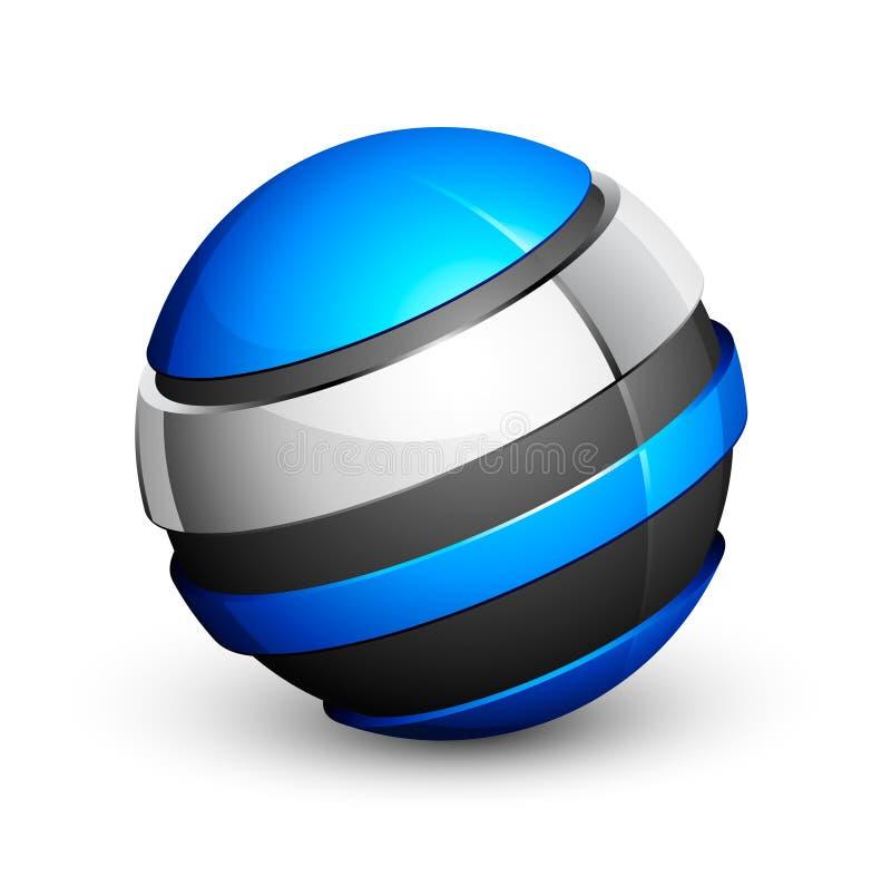 Diseño de la esfera ilustración del vector
