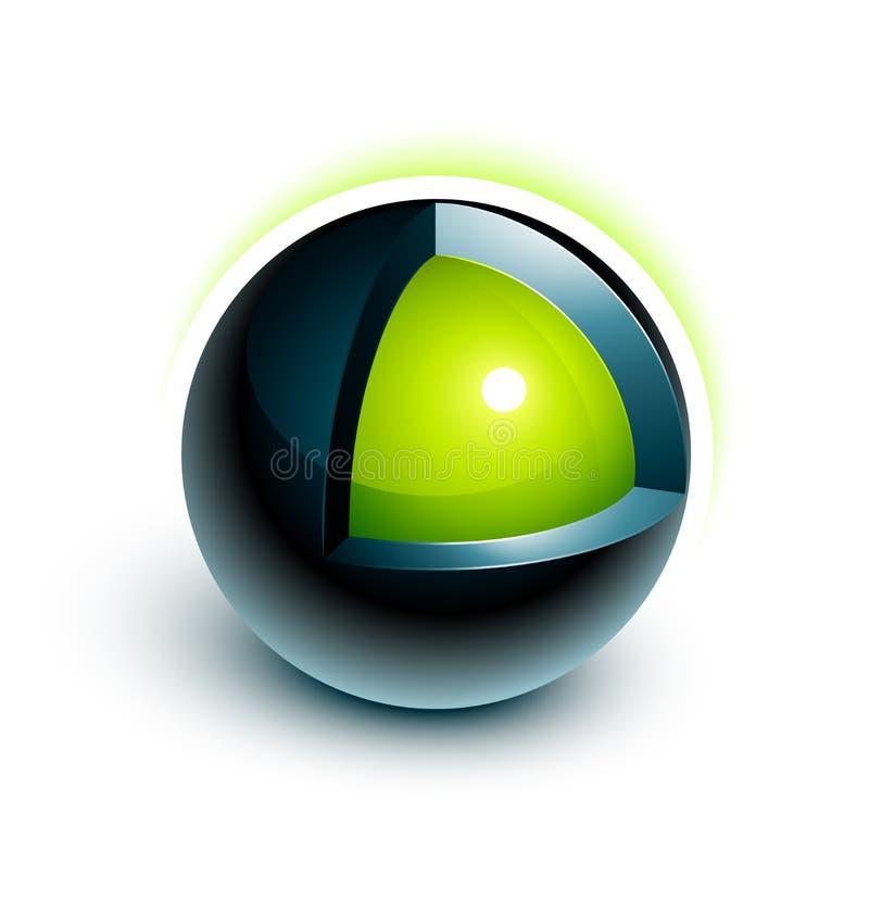 Diseño de la esfera 3d libre illustration