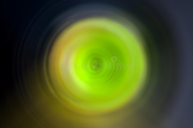Diseño de la falta de definición de movimiento circular fotos de archivo