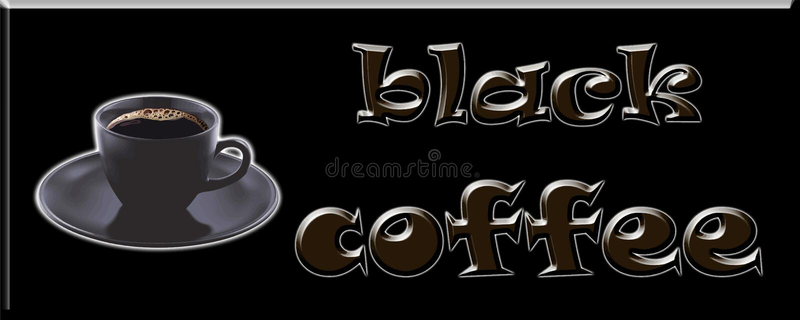 Diseño de la imagen del ejemplo del paquete de la etiqueta de la cubierta del café sólo libre illustration