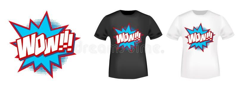 Diseño de la impresión de la camiseta ilustración del vector