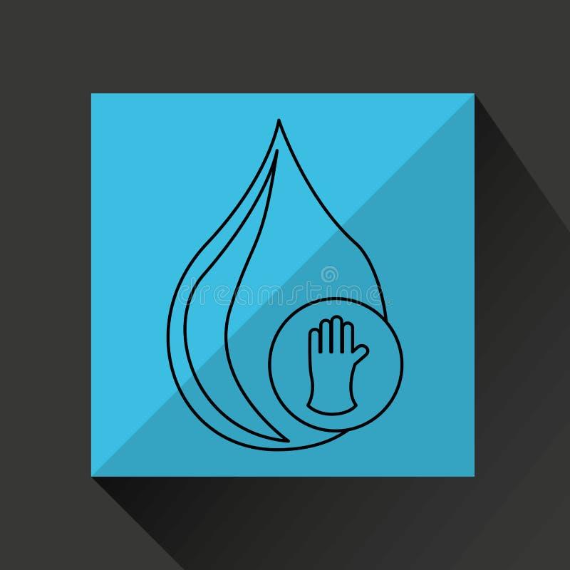 diseño de la industria energética stock de ilustración