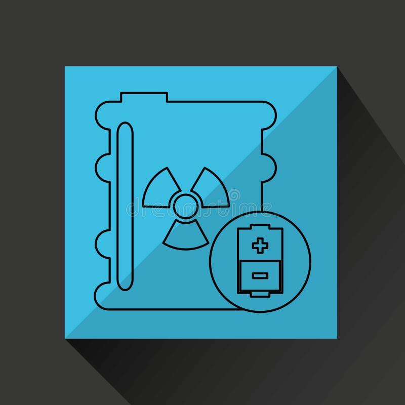 diseño de la industria energética libre illustration