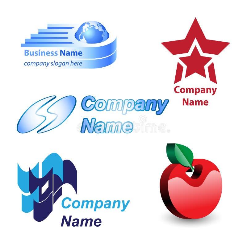 Diseño de la insignia imagen de archivo libre de regalías