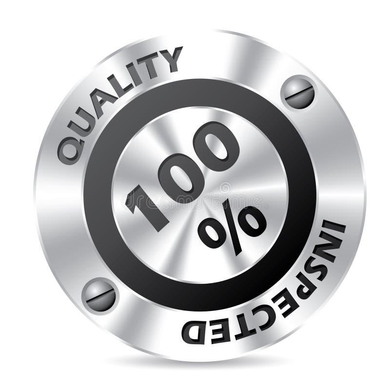Diseño de la insignia de la concesión de la tecnología stock de ilustración