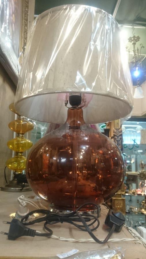 Diseño de la lámpara imagen de archivo