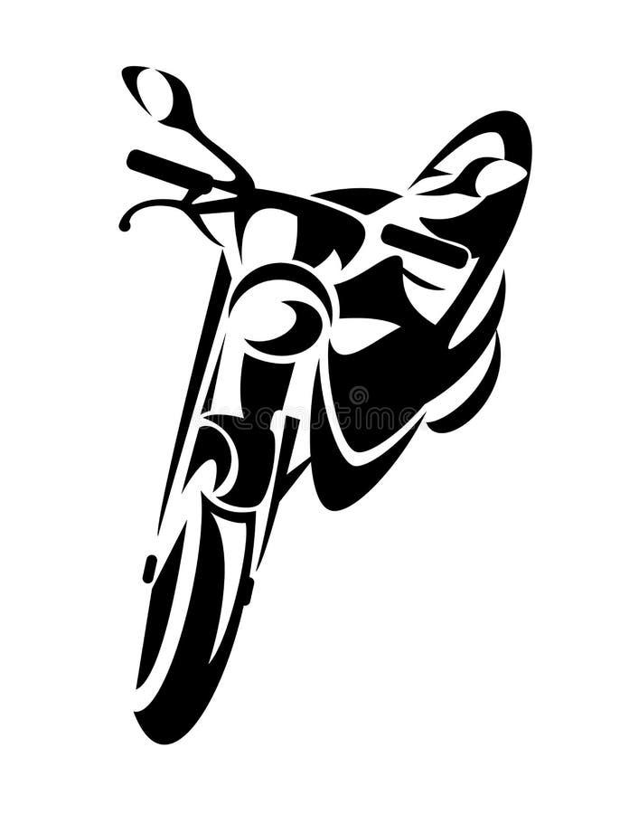 Diseño de la motocicleta ilustración del vector