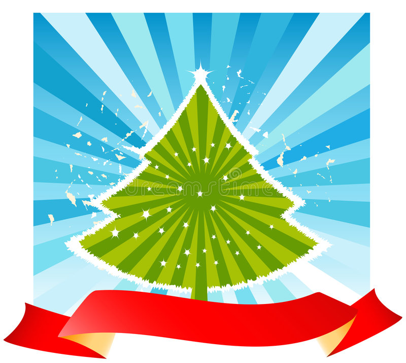 Diseño de la Navidad libre illustration
