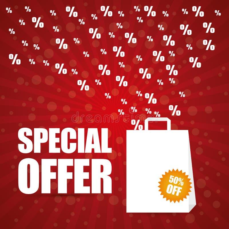 Diseño de la oferta especial libre illustration