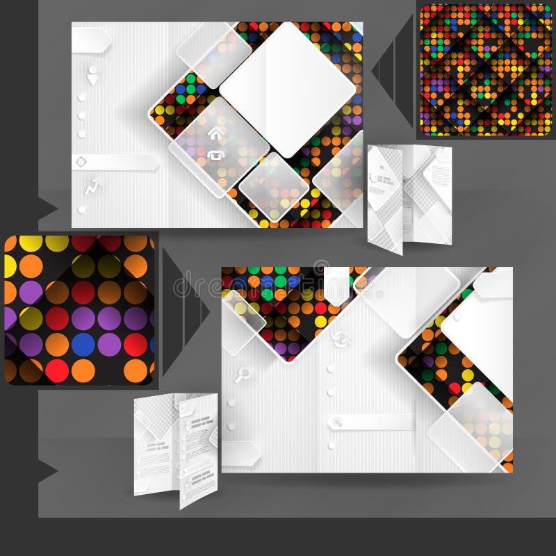 Download Diseño De La Plantilla Del Folleto Del Negocio Ilustración del Vector - Ilustración de artístico, decoración: 42430198