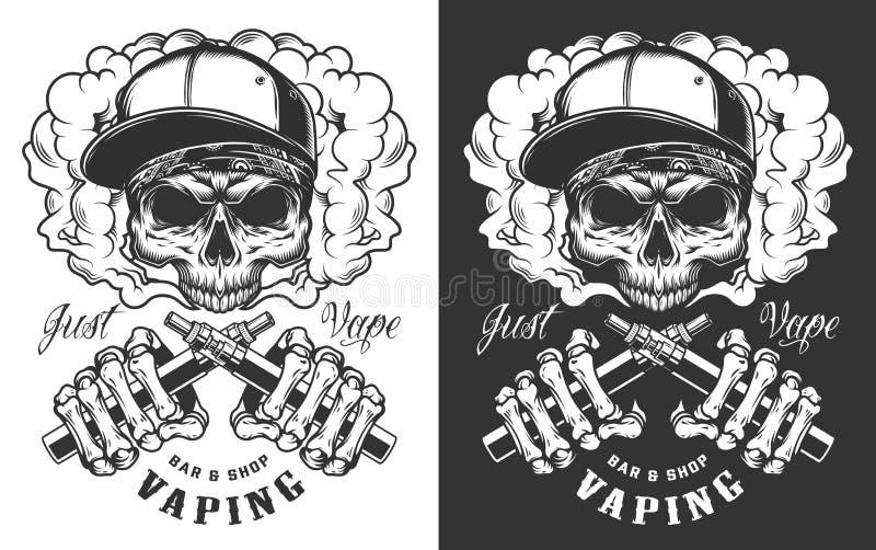 Diseño de la ropa de Vaping libre illustration