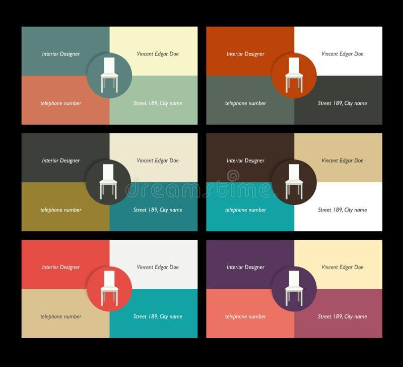 Download Diseño De La Tarjeta De Visita Ilustración del Vector - Ilustración de negocios, tarjeta: 42443627