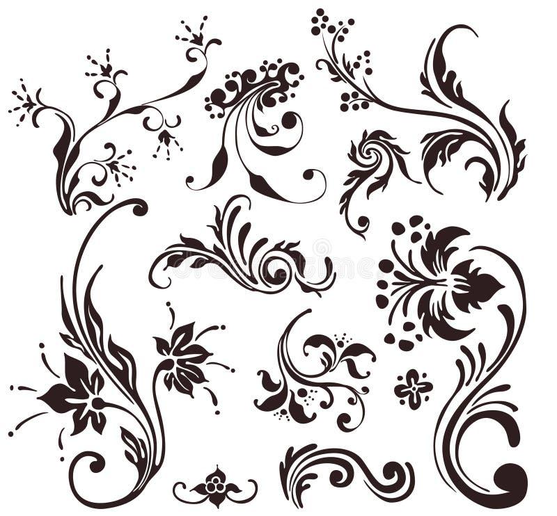 Diseño de la vendimia stock de ilustración