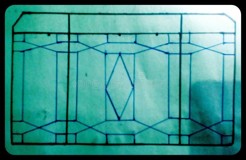 Diseño de la ventana imagenes de archivo