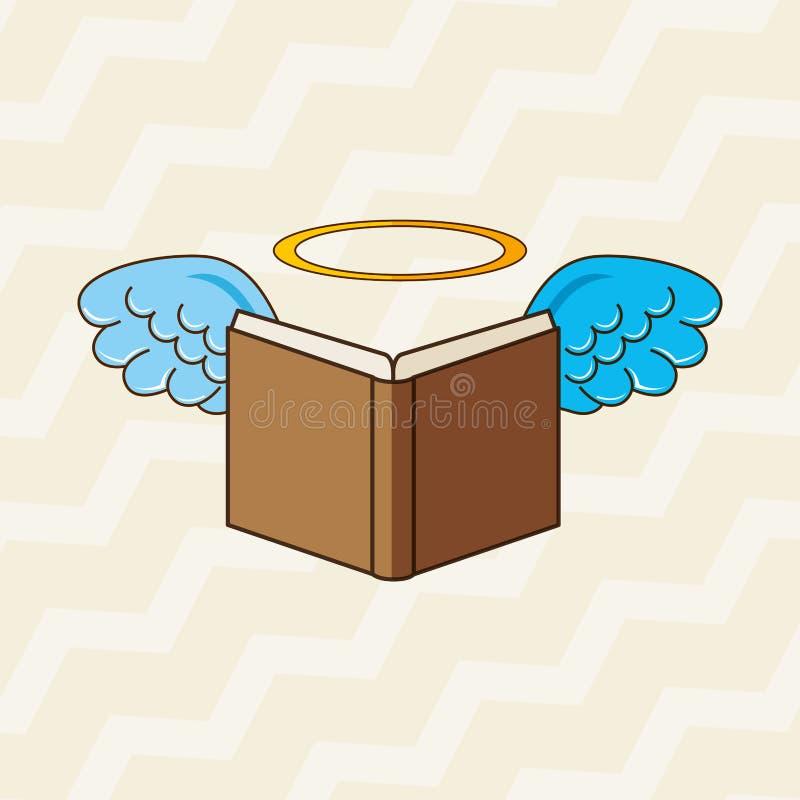 diseño de las alas de los ángeles ilustración del vector
