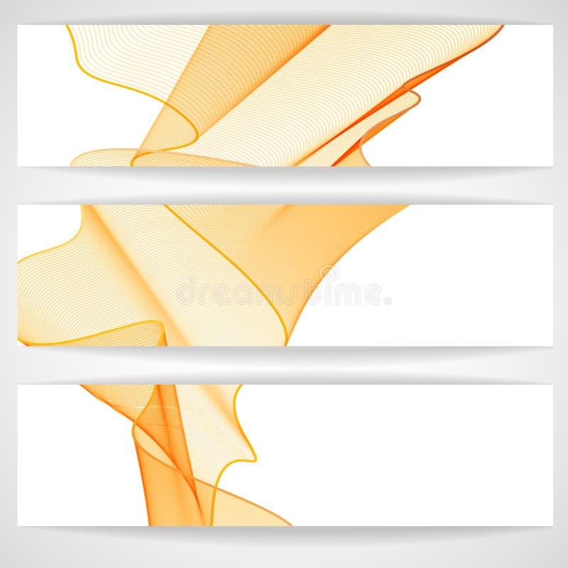 Download Diseño De Las Ondas Del Extracto Ilustración del Vector - Ilustración de bandera, extracto: 42430165