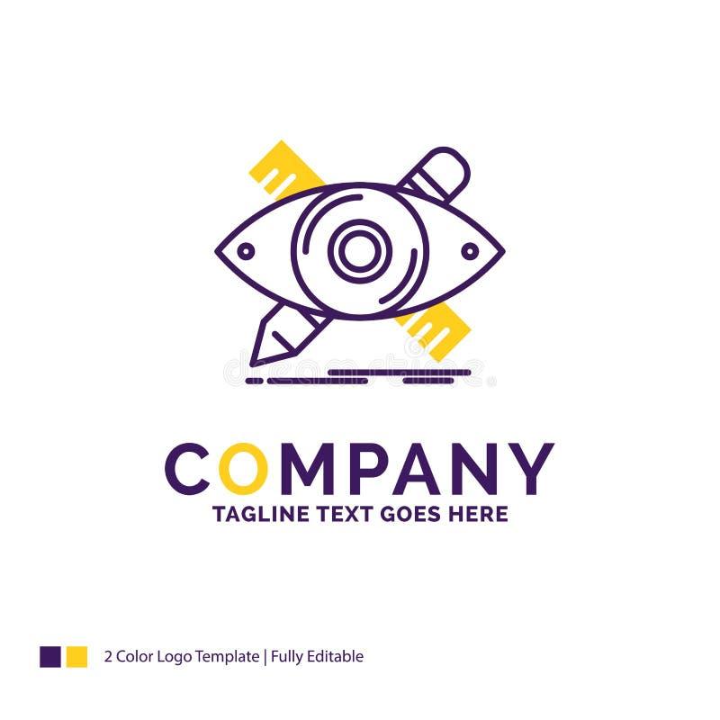 Diseño de Logo Design For del nombre de compañía, diseñador, ejemplo, ske ilustración del vector